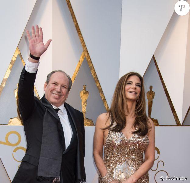 Hans Zimmer et sa femme Suzanne Zimmer - Arrivées - 90ème cérémonie des Oscars 2018 au théâtre Dolby à Los Angeles, le 4 mars 2018. © Michael Baker/AMPAS via ZUMA Press/Bestimage