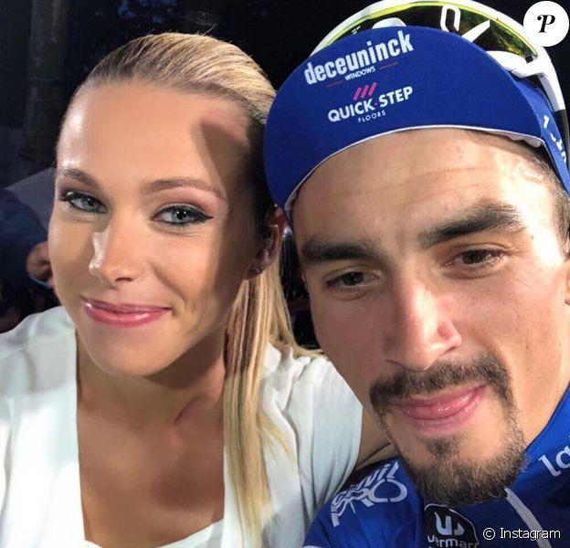 Marion Rousse, selfie avec Julian Alaphilippe, photo Instagram 29 juillet 2019