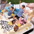 Kate Hudson fête ses 41 ans à son domicile, à Pacific Palisades. Le 19 avril 2020.