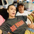 Bruce Willis et sa fille Tallulah ensemble en confinement, le 20 avril 2020.