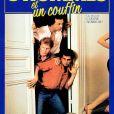 """Affiche du film """"Trois hommes et un couffin"""". 1985."""