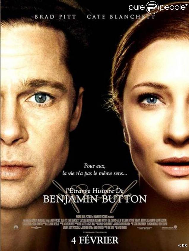 L'affiche de  L'étrange histoire de Benjamin Button  !