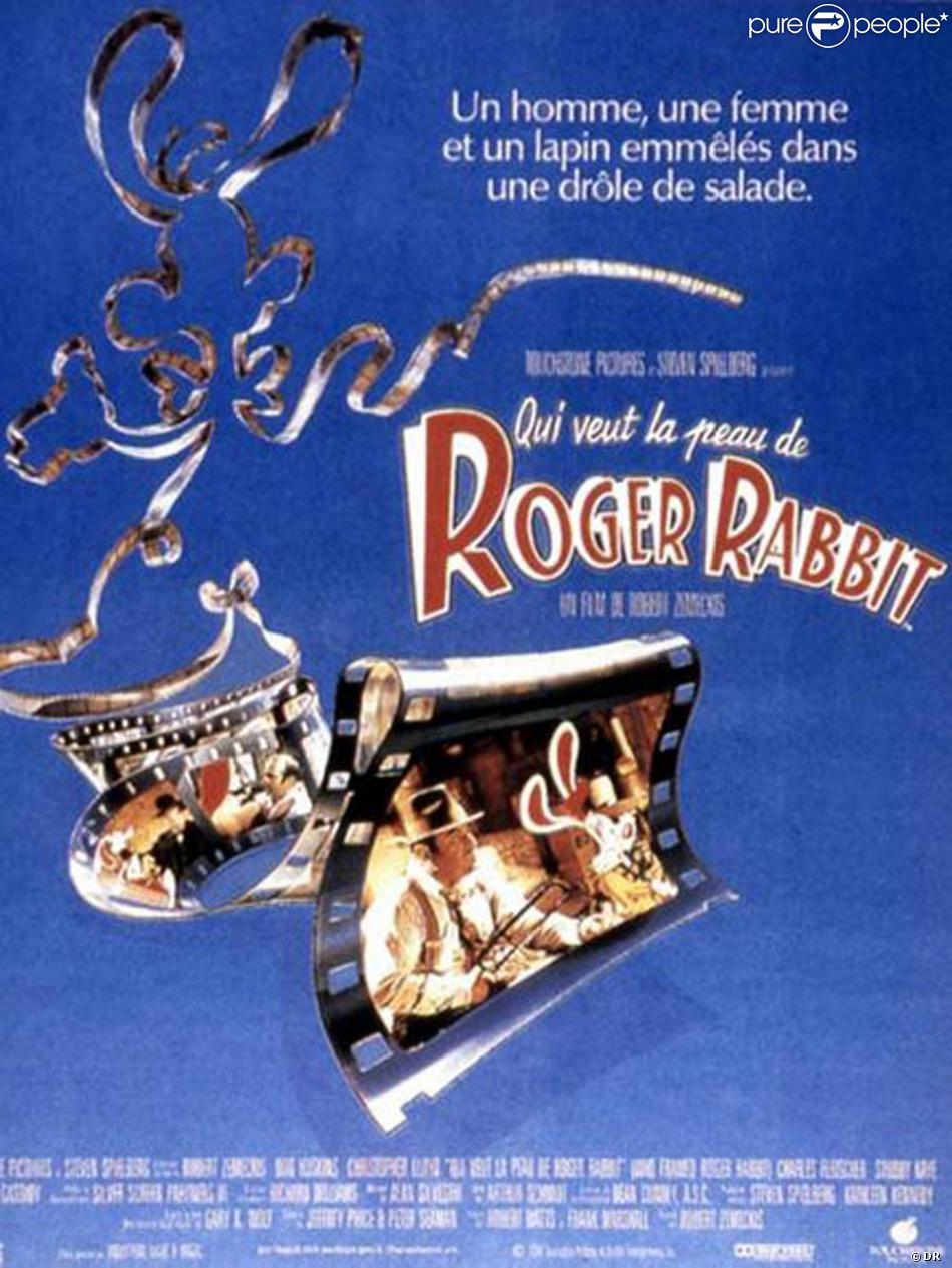 Affiche Roger Rabbit l'affiche de qui veut la peau de roger rabbit ! - purepeople