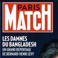 Couverture du nouveau numéro du magazine Paris Match
