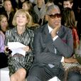 Anna Wintour et Andre Leon Talley à Paris, le 5 octobre 2006.