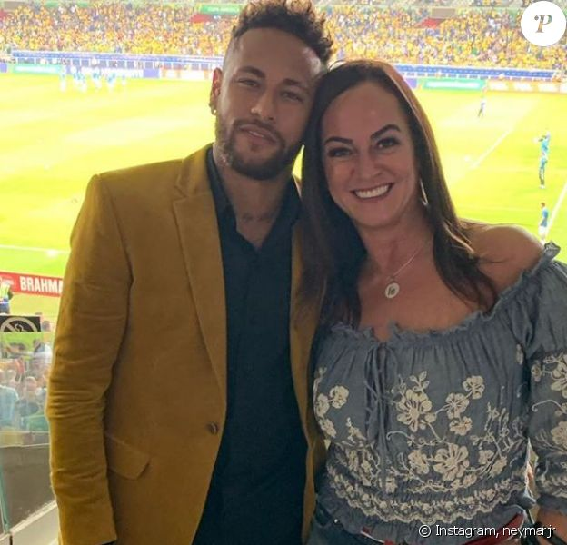 Neymar et sa mère Nadine sur Instagram, le 3 juillet 2019.
