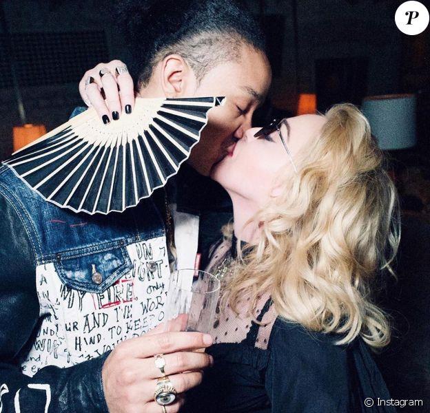Madonna et Ahlamalik Williams sur Instagram le 24 avril 2020.