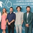"Lily-Rose Depp, David Michod, Timothee Chalamet - Photocall du film ""The King"" à la 76ème Mostra de Venise, Festival International du Film de Venise, le 2 septembre 2019."