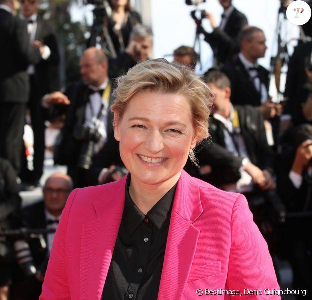 Anne-Elisabeth Lemoine lors de la montée des marches de la cérémonie de clôture du 72ème Festival International du Film de Cannes, le 25 mai 2019. © Denis Guignebourg/Bestimage