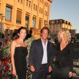 Aure Atika, Vincent Lindon et Sandrine Kiberlain au Festival d'Angoulême