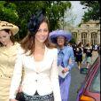 Kate Middleton au mariage de Rose Astor et Hugh van Cutsem à Oxford, en 2005.
