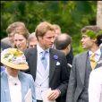 Le prince William au mariage de Rose Astor et Hugh van Cutsem à Oxford, en 2005.