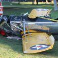 Harrison Ford a été blessé quand le petit avion biplace datant de 1942 qu'il pilotait. A cause d'une panne de moteur, il a dû atterrir en urgence sur un terrain de golf à Los Angeles le 5 mars 2015