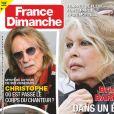 Couverture du nouveau numéro de France Dimanche, paru le 30 avril 2020