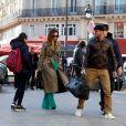 Victoria Beckham et son mari David ont quitté leur hôtel à Paris, pour se rendre à la Gare du Nord pour prendre l'Eurostar. Le 18 janvier 2020
