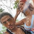 Fidji Ruiz et Dylan en couple, photo Instagram du 23 juin 2019