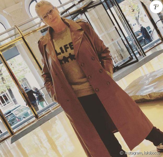 Laurence Boccolini sur Instagram, octobre 2019