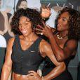 Serena Williams dévoile sa réplique de cire chez Mme Tussauds, le 27 août 2009