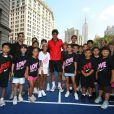 Roger Federer et sa nouvelle tenue Nike pour l'US Open