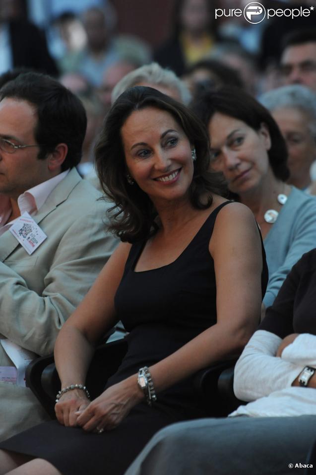 Ségolène Royal à l'Université d'été du PS à La Rochelle, le 28/08/09
