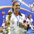 Alex Morgan lors de la finale de la coupe du monde féminine de football, États-Unis - Pays-Bas à Lyon le 7 juillet 2019. Les États-Unis ont remporté la finale sur le score de 2 à 0. © Gwendoline Le Goff/Panoramic/Bestimage