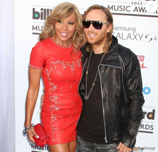"David Guetta, Cathy Guetta - People à la soirée ""2013 Billboard Music Awards"" au ""MGM Grand Garden Arena"" à Las Vegas, le 19 mai 2013."