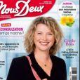 """Cécile Bois en couverture du nouveau numéro du magazine """"Nous Deux"""" paru le mardi 12 mai 2020"""