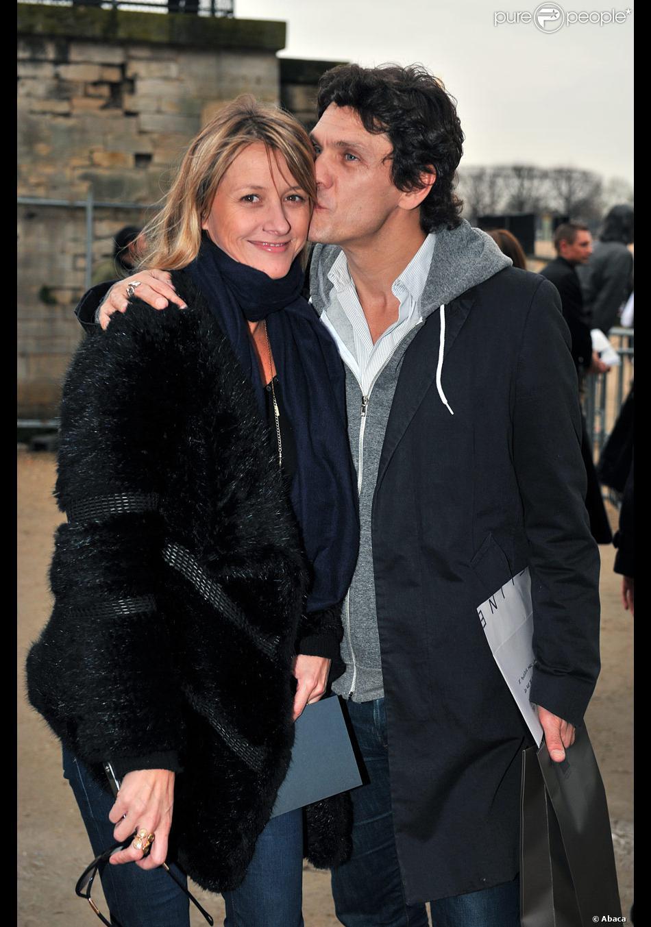 Marc lavoine et sa femme sarah purepeople - Marc et sarah lavoine ...