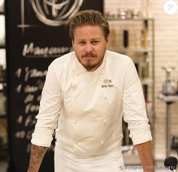 Mathew Hegarty sur Instagram, ex candidat de Top Chef en 2018