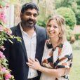 La princesse Maria Petrovna Galitzine et son mari Rishi Singh sur Facebook, en septembre 2018.