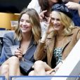 Cara Delevingne et sa compagne Ashley Benson - Dans les tribunes de la finale femmes du tournoi de tennis de l'US Open 2019 à New York le 7 septembre 2019.