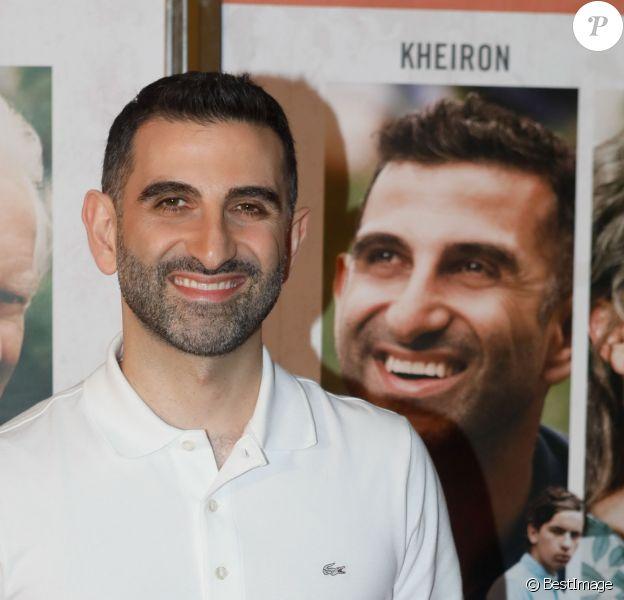 """Kheiron (Manouchehr """"Nouchi"""" Tabib) - Avant-première du film """"Mauvaises herbes"""" au cinéma UGC Ciné Cité les Halles à Paris, France, le 12 novembre 2018. © CVS/Bestimage"""