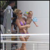 Britney Spears, sa soeur Jamie Lynn, leurs adorables enfants et leurs parents... Les Spears sous le soleil !