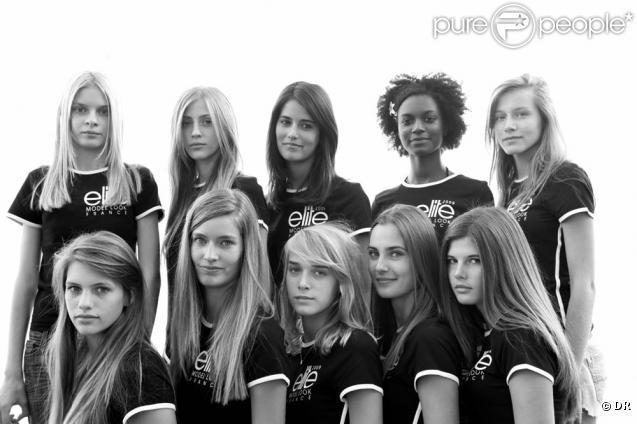 Les dix françaises en final du concours Elite Model Look 2009 !