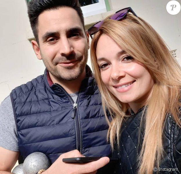 Delphine et Romain, candidats de l'émission Mariés au premier regard saison 4.