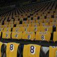 Illustration - La célébration commémorative en l'honneur de Kobe Bryant avant le début du match opposant les Los Angeles Lakers et les Portland Trailblazers en visite le vendredi 31 janvier 2020 au Staples Center de Los Angeles, en Californie. Les Lakers perdent face aux Trailblazers. © Prensa Internacional via ZUMA Wire / Bestimage