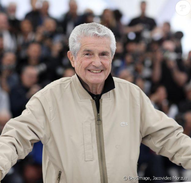 Claude Lelouch au photocall du film Les plus belles années d'une vie lors du 72ème Festival International du film de Cannes. Le 19 mai 2019 © Jacovides-Moreau / Bestimage
