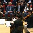 Le prince Charles, prince de Galles, et Camilla Parker Bowles, duchesse de Cornouailles, assistent à un concert à l'académie Barenboim-Said à Berlin le 9 mai 2019.