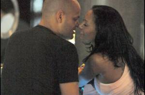 Mel B et son mari Stephen Belafonte : un véritable festival de baisers !