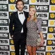 """Thomas Middleditch et wife Mollie Gates - 17e """"Annual VES Awards"""" au Beverly Hilton Hotel. Le 5 février 2019. @Danny Moloshok/ImageSpace/SPUS/ABACAPRESS.COM"""