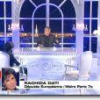 Rachida dati chez Thierry Ardisson samedi soir 5 septembre dans Salut Les terriens