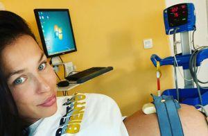 Julie Ricci obligée d'accoucher plus tôt, sa santé en cause