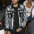 """Exclusif - Neymar Jr - Arrivées et sorties au Lutetia """"Pop Up"""" club où Cindy Bruna célèbre ses 25 ans, Paris le 28 septembre 2019. © Perusseau - Da Silva / Bestimage"""