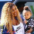 """Serena Williams et sa fille Alexis Olympia à l'évènement Nike """"Queens of Tennis Experience"""" au parc William F. Passannante Ballfield à New York le 20 août 2019. © Charles Guerin/Bestimage"""