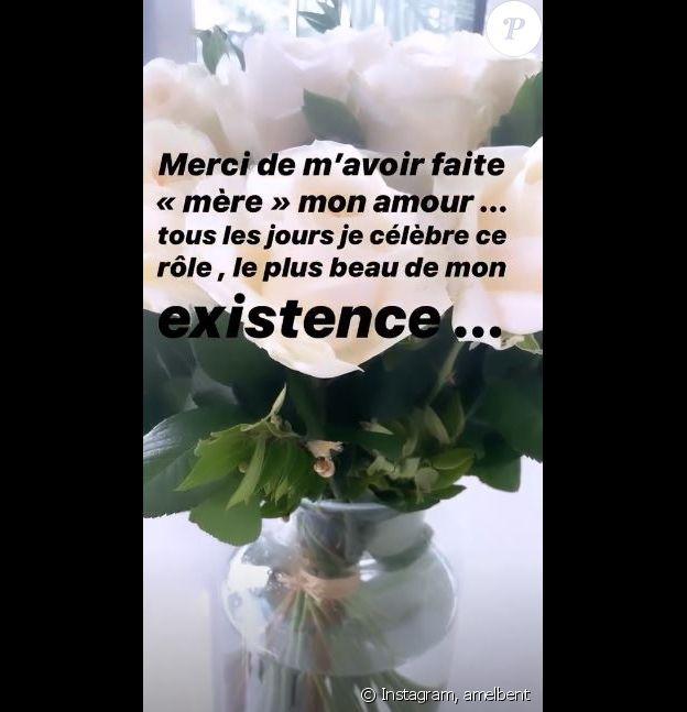 Amel Bent a publié une jolie déclaration à l'attention de son mari Patrick Antonelli sur Instagram le 7 juin 2020, à l'occasion de la fête des Mères.