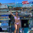 Astrid Nelsia en bikini aux Bahamas, le 27 février 2020