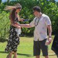 Sofia Vergara et son mari Joe Manganiello ont été aperçus à l'occasion du Maui Film Festival à Kihei à Hawaï, le 16 juin 2019.