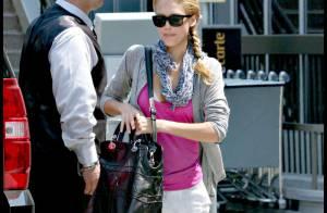 Jessica Alba : avec son adorable fille Honor... elle voit la vie en rose !
