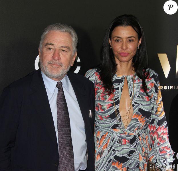 Robert De Niro et sa fille adoptive Drena De Niro à la 20e soirée annuelle Hollywood Film Awards à l'hôtel Beverly Hilton à Beverly Hills, le 6 novembre 2016.