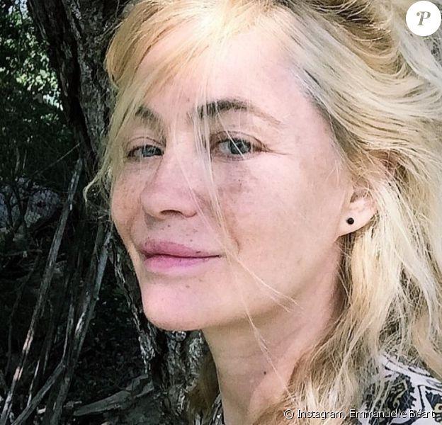 Emmanuelle Béart sur Instagram. Le 18 mai 2020.